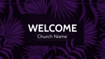 Lent welcome 16x9 PowerPoint Photoshop image