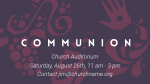 Illustrated Communion 16x9 PowerPoint Photoshop image
