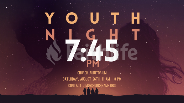 Night Sky Youth 16x9 smart media preview