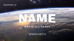 Name Above All Names  PowerPoint image 14