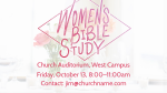 Women's Bible Study  PowerPoint Photoshop image 3