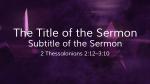 Season of Prayer sermon title 16x9 PowerPoint Photoshop image