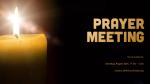 Prayer Meeting  PowerPoint image 1