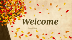 Fall Leaves  PowerPoint Photoshop image 1