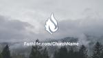 Foggy Forest faithlife 16x9 PowerPoint image