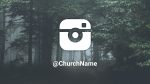 Forest instagram 16x9 PowerPoint image