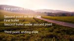 Country Road content a PowerPoint image