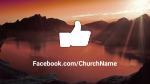 Lake at Sunset facebook 16x9 PowerPoint image