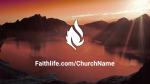Lake at Sunset faithlife 16x9 PowerPoint image