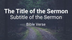 Dirt Road sermon title 16x9 PowerPoint image