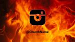 Fire instagram 16x9 PowerPoint image