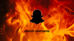 Fire snapchat 16x9 PowerPoint image