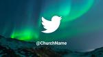 Aurora Borealis Over Mountains  PowerPoint image 11