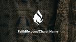 Burlap faithlife 16x9 PowerPoint image