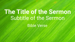 Leaf sermon title 16x9 PowerPoint image