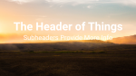 Sunset Over Fields header subheader 16x9 PowerPoint image