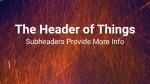 Sparks header subheader 16x9 PowerPoint image