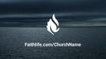 Stormy Beach faithlife 16x9 PowerPoint image