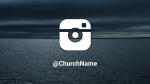 Stormy Beach instagram 16x9 PowerPoint image