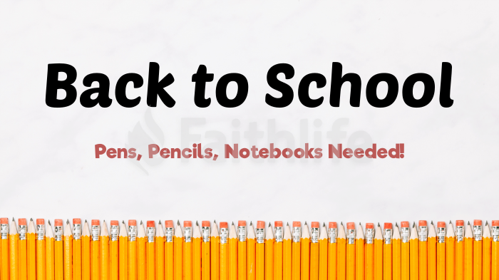 Back to School – Pencil Lines large preview