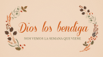 Thanksgiving dios los bendiga 16x9 PowerPoint Photoshop image