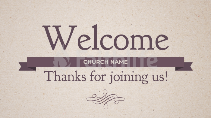 Pastor Appreciation welcome 16x9 smart media preview