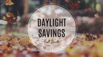 Daylight Savings  PowerPoint Photoshop image 1