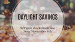 Daylight Savings  PowerPoint Photoshop image 2