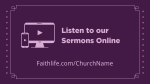 Advent Series Faith sermons online 16x9 PowerPoint Photoshop image