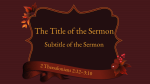 Giving Thanks sermon title 16x9 PowerPoint Photoshop image