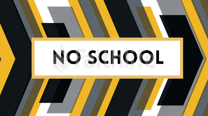 No School large preview