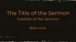 The Gospel of Mark sermon title 16x9 PowerPoint Photoshop image