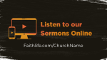 The Gospel of Mark sermons online 16x9 PowerPoint Photoshop image
