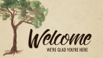 Rooted in the Word of God welcome 16x9 PowerPoint Photoshop image