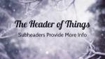 Snowy Serenity header subheader 16x9 PowerPoint Photoshop image