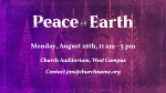 Peace On Earth Purple  PowerPoint Photoshop image 8