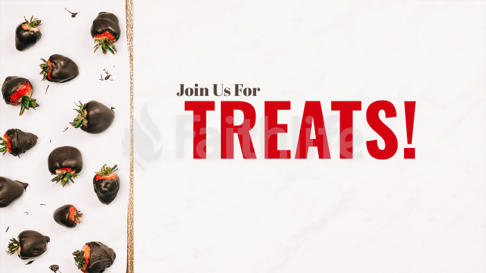 Join Us For Treats! large preview