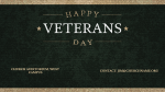 Happy Veterans Day Canvas  PowerPoint Photoshop image 4