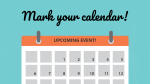 Mark Your Calendar  PowerPoint Photoshop image 1