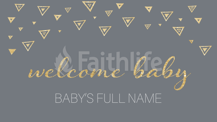 Birth Announcement large preview