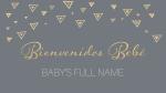 Birth Announcement  PowerPoint Photoshop image 5