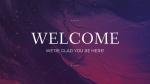 Majesty welcome 16x9 PowerPoint Photoshop image