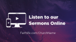 Majesty sermons online 16x9 PowerPoint Photoshop image