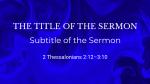 Moving Liquid sermon title blue 16x9 PowerPoint Photoshop image