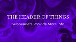 Moving Liquid header subheader purple 16x9 PowerPoint Photoshop image