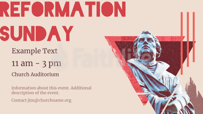 Reformation Sunday large preview