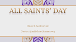 All Saints' Day Flower  PowerPoint Photoshop image 4
