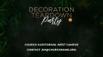 Decoration Teardown Party  PowerPoint Photoshop image 4