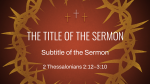 Illustrated Crown of Thorns  PowerPoint Photoshop image 9