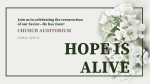 Hope is Alive  PowerPoint Photoshop image 3